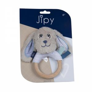 Jipy rammelaar hond blauw