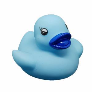 Blauw badeendje 5 cm