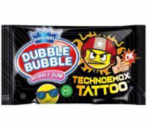 Dubbel bubble gum emoji kaugom voor extra grote bellen