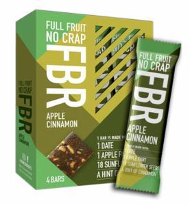 Fruitbar Appel-Kaneel 92 Kcal per reep.