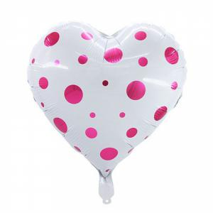 Hart ballon folie 42cm