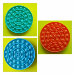 Pop-it Bubble pop prijs per stuk - cirkel 3 verschillende kleuren