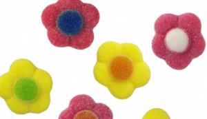Bloemen snoepjes Jelly Prijs per 100 gram