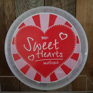 Snoep - Spekken in hartvorm 325gr