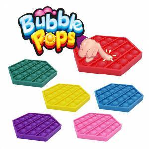 Pop-it Bubble pop prijs per stuk - Zeshoek - 6 verschillende kleuren