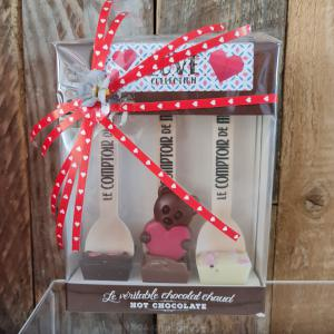 Love Collection - Hot Chocolate Lepel 3x30gr.