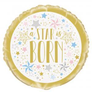 A STAR is Born folie folieballon 45,7cm