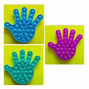 Pop-it Bubble pop prijs per stuk - Hand - 3 verschillende kleuren