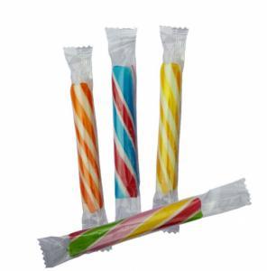 Zuurstokjes verschillende kleuren. 7.5cm prijs is per stuk