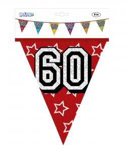 Vlaggenlijn jarig 60 jaar