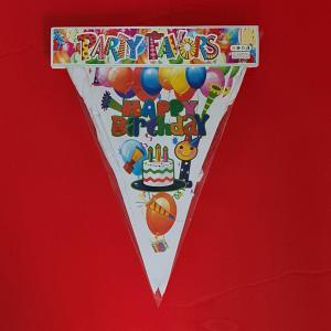 Vlaggenlijn Happy Birthday 10 meter