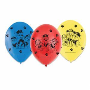 Paw Patrol ballonnen 6-stuks (23cm)