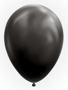 Ballonnen - Black - 10 stuks, 30 cm