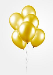 Ballonnen - Pearl yellow - 10 stuks, 30 cm
