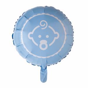 Baby ballon folie - blauw