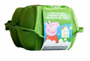 Mini Peppa Big 4-pack easter eggs