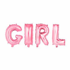 Folie ballonnen - Letters GIRL - 41cm, 16inch