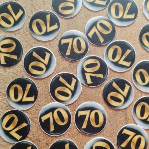Suikerschildjes 70 jaar