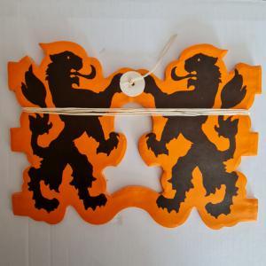 Holand vlaggenlijn leeuw papier