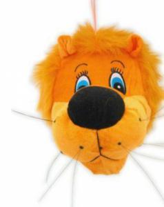 Pluche leeuwenkop oranje Holland