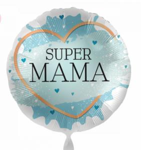 Folieballon - SUPER MAMA - 43 cm / 17 inch