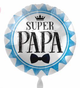 Folieballon - SUPER PAPA - 43 cm / 17 inch