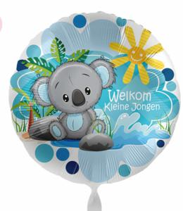 Folieballon - Welkom Kleine jongen - 43 cm / 17 inch