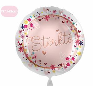 Folieballon - Sterkte - 43 cm / 17 inch