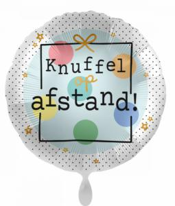 Folieballon - Knuffel op afstand! - Hartvorm 43cm / 17 inch