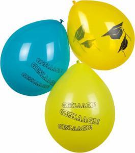 Ballon geslaagd 6-stuks