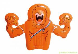 Holland opblaasbare hand leeuw