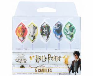 Harry Potter verjaardag kaarsjes 5-stuks
