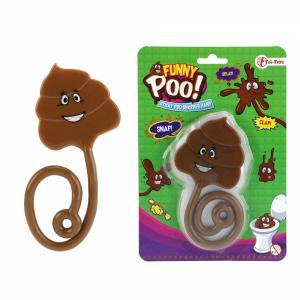 Funny poo! lachende plakdrol
