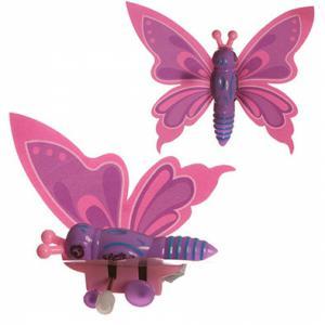 Opwindvlinder kleur roze,lila/paars