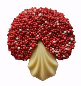 Herfst chocolade paddenstoeltjes 100 gram