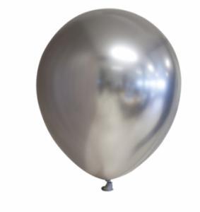 Spiegel-ballon Chrome Zilver 10-stuks 30cm