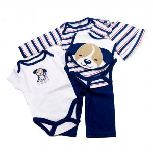 Soft Touch 5 - delig babypakje hond maat 3-6 mnd