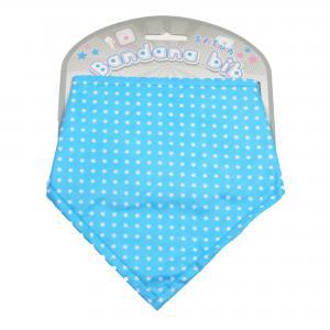 Soft Touch bandana blauw met sterren