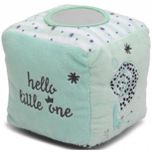 Tiamo knuffel kubus pinquin collectie Hello Little One