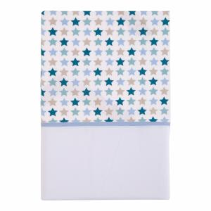 Little Dutch - Wieglaken Mixed Stars mint