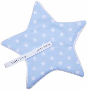 Little Dutch - speendoekje Lichtblauw met witte ster