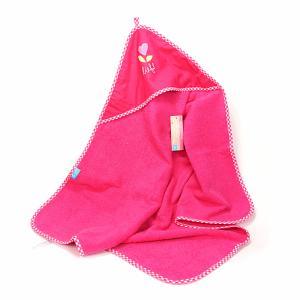 Lief! lifestyle badcape donker roze