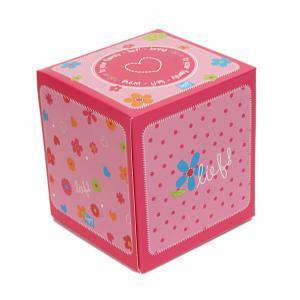 Lief! lifestyle tissue doosje roze/bloem