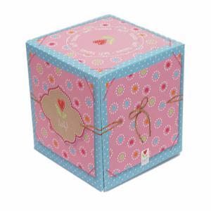 Lief! lifestyle tissue doosje blauw/roze