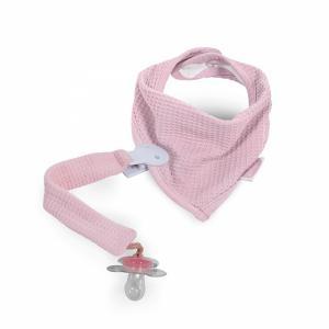 Jollein slab bandana Mini waffle vintage pink
