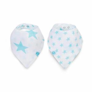 Jollein slab bandana hydrofiel Little star mint (2pack)