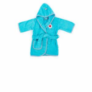 Lief! lifestyle badjas turquoise 0 -12 mnd