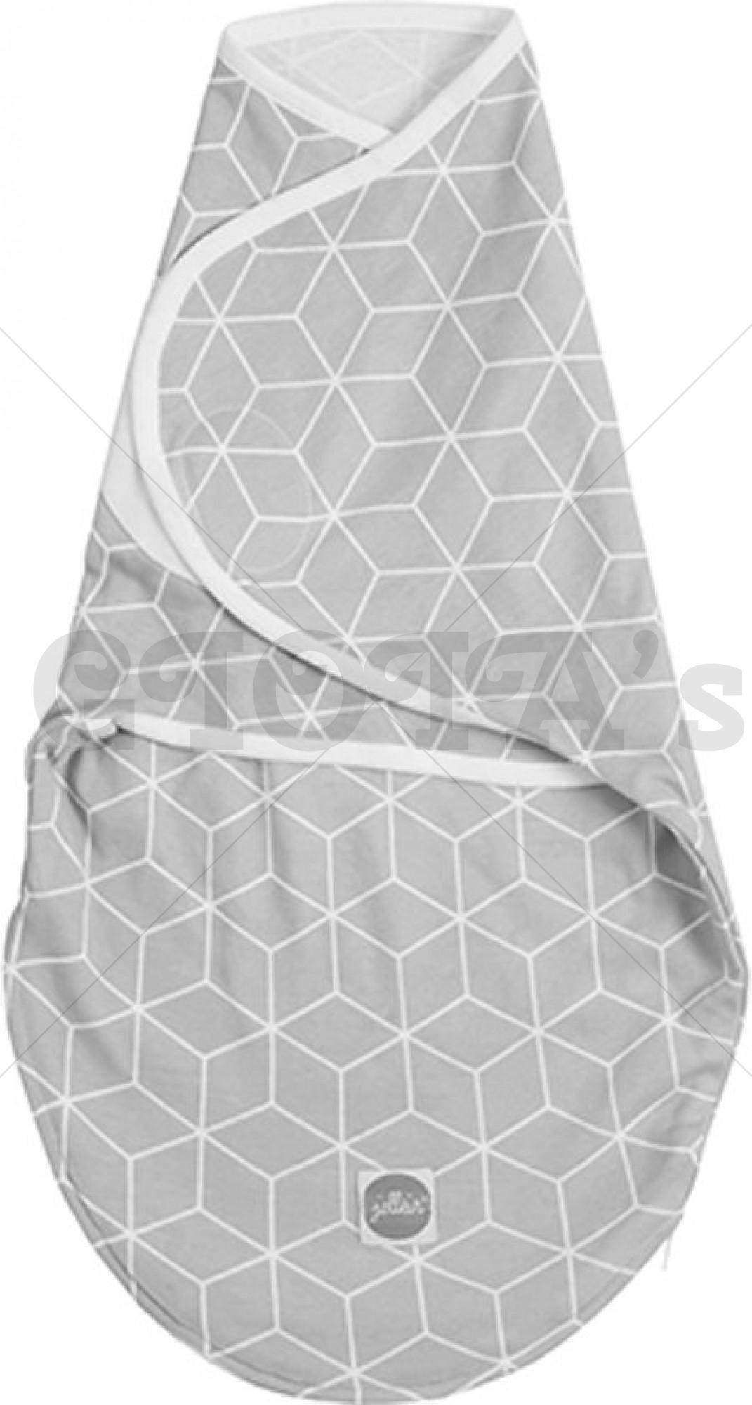 Jollein - Slaapzak wrapper 0-3 maanden Graphic grey