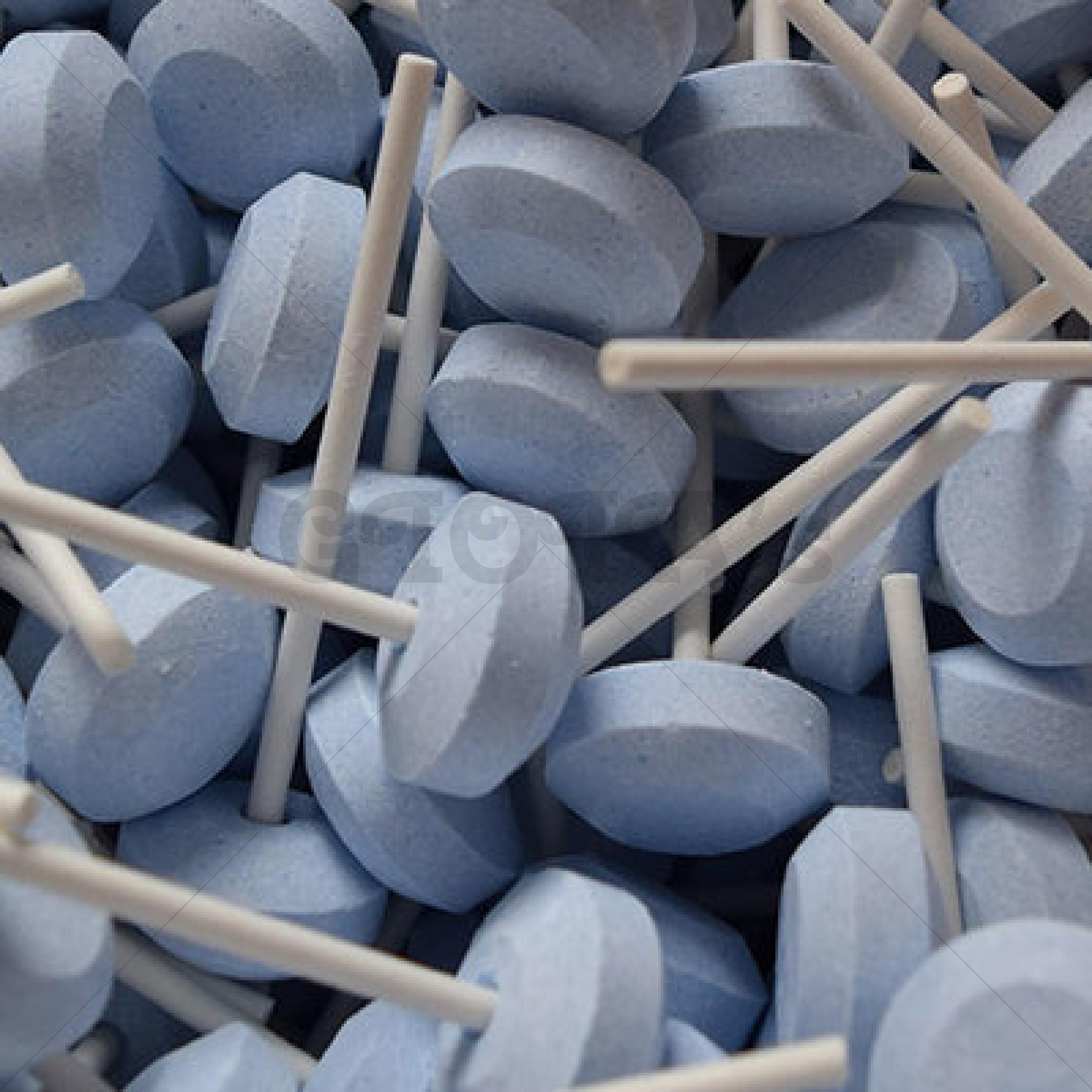Themasnoep - Lolly dextrose blauw (prijs is per stuk)