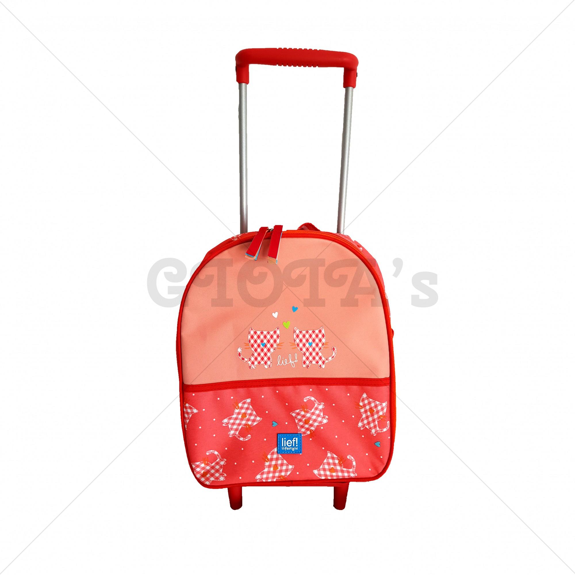 e90760fb456 Lief! lifestyle trolley mandarijnrood-zalm - GIOIA's cadeau en ...